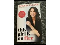 Andrea McLean paperback book as new