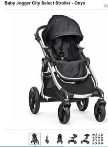 Brand New (unopened box) Baby Jogger City Select Stroller - Onyx