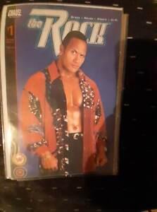WWF comic books