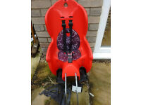 Hamax Kiss bike toddler seat