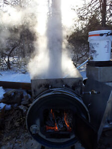 Small Maple Syrup Evaporator