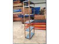 6 TIER SHOP GARAGE CONTAINER WORKSHOP SHED MINI METAL RACKING SHELVING BAY