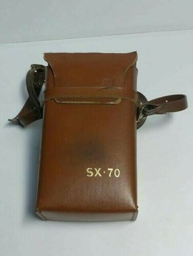 Polroid Original SX-70 Instant Camera With Leather Case