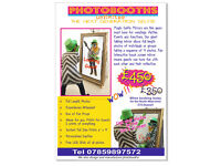 MIRROR PHOTO BOOTH £100 7 DAYS ONLY