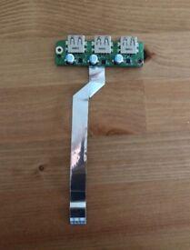 USB (3x) Acer Aspire 5553 5625G 5820T 5745 3JZR8U80000