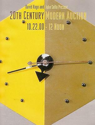 Rago /// 20th C. Modern Deco Design Auction Catalog 2000