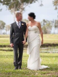 Stunning strapless Rosa Clara wedding dress Burpengary Caboolture Area Preview