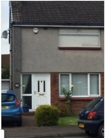 fully furnished 2 bedroom semi detached in quiet cup-de-sac with drive and enclosed back garden