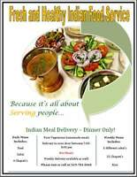 Fresh and Healthy Indian Food Service