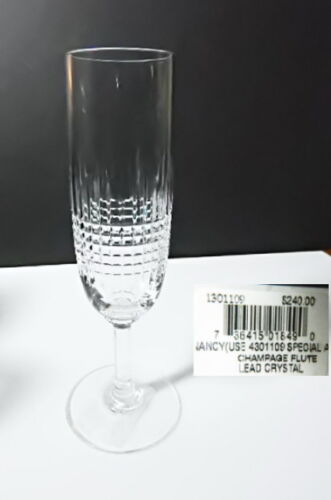 Baccarat Crystal NANCY Champagne Flute(s) NEW w/Tags