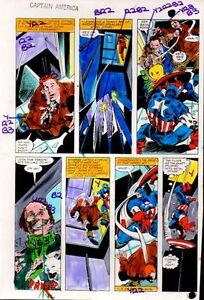 1981-Colan-Captain-America-Annual-5-Marvel-Comics-color-guide-art-page-23-1980s