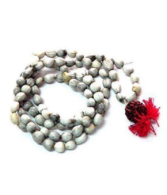 Vaijanti Mala 108+1 For Victory Jaap Mala - Hindu Vishnu Puja Prayer Bead Rosary