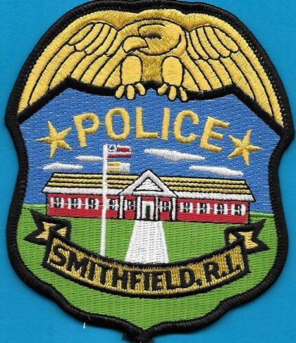 SMITHFIELD RI RHODE ISLAND POLICE DEPT SPD FLAG EAGLE (FIRE) LOCAL STATE