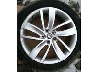 "Vauxhall Astra J SRI 18"" Inch Alloys x2"