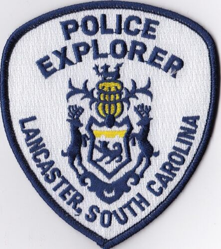 Lancaster Police Explorer Police Patch South Carolina SC