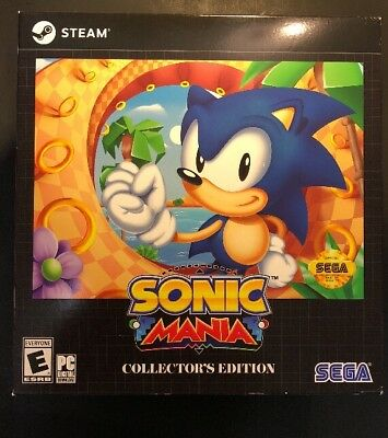 Sonic Mania   Collectors Edition    Pc  New