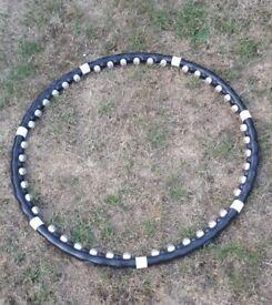 Hula hoop weighted