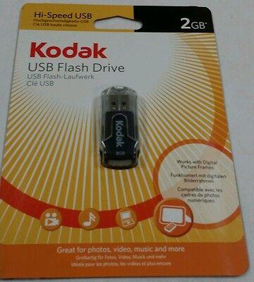 New KODAK 2GB USB 2.0 Flash drive tajima swf jump -