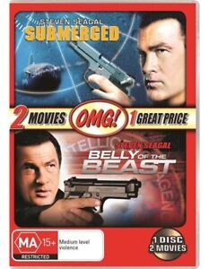 Belly Of The Beast / Submerged (DVD, 2011) 2 Movies on 1 Disc New/ Sealed R4