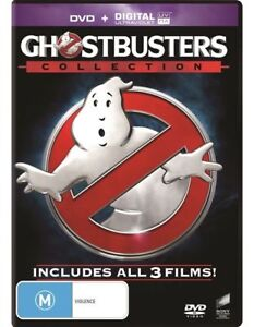 Ghostbusters Collection 3-movie DVD NEW Region 4 Bill Murray Dan Aykroyd