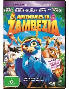 Adventures in Zambezia NEW R4 DVD and UV