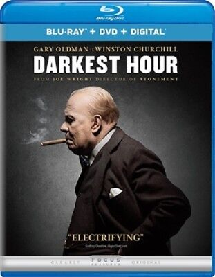 Darkest Hour 02 18  Used  Blu Ray Only Disc Please Read