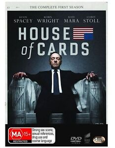 House-Of-Cards-Season-1-DVD-2013-4-Disc-Set-R4-Excellent-Condition