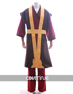 Prince Zuko from Avatar Final Cosplay Costume Custom Made Halloween