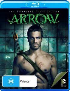 Arrow : Season 1 (Blu-ray, 2013, 4-Disc Set) Brand New!!