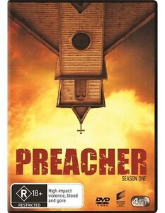 Preacher : Season 1 (DVD, 4-Disc Set) NEW Sealed Region 4