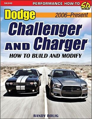 Dodge Challenger & Charger 2006-Present - How To Build & Modify - Book SA340