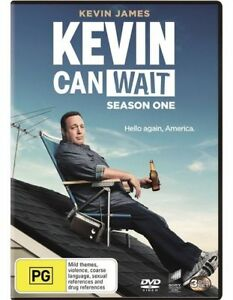 Kevin Can Wait : Season 1 (DVD, 3-Disc Set) NEW
