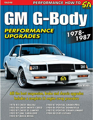 GM G-Body Performance Upgrades 1978-1987 Book~El Camino-Malibu-Grand Prix +more ()