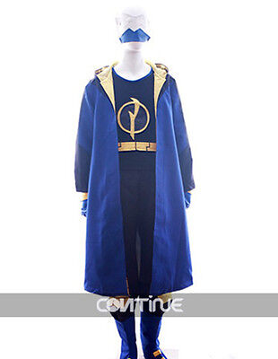 Virgil Hawkins Static Shock DC Cosplay Costume Custom Made Halloween (Static Shock Halloween Costume)
