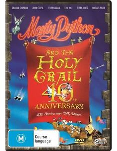 Monty Python And The Holy Grail (40th Anniversary) : NEW DVD