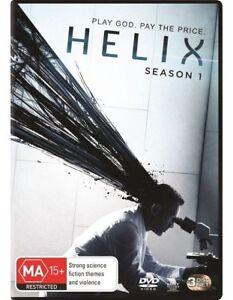Helix : Season 1 (DVD, 2014, 3-Disc Set)