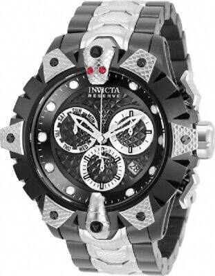 Invicta Reserve Men's 52mm Venom Viper Swiss Chrono Stainless Steel Watch 32277