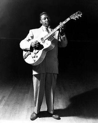 Blues Soul Singer BB KING Glossy 8x10 Photo Music Guitarist Print B.B. Poster