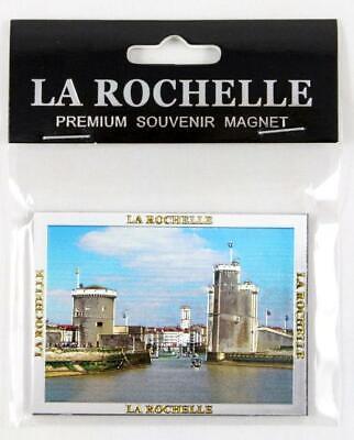 La Rochelle Premium Souvenir Magnet,Frankreich France,Laser Optik ! gebraucht kaufen  Völklingen