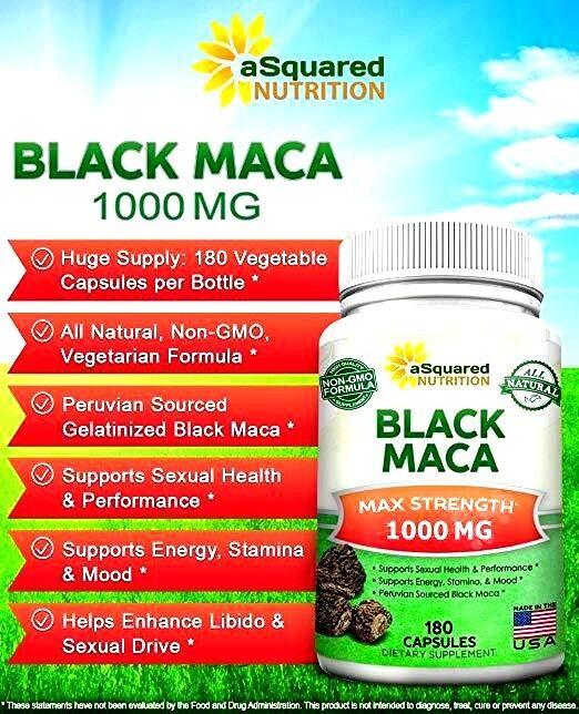 black maca root gelatinized peruvian black maca