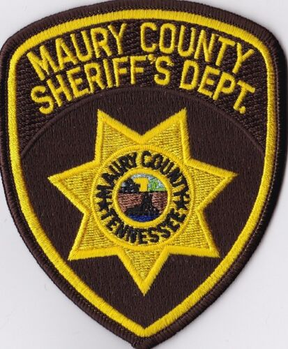 Maury County Sheriffs Dept. TN Tennessee patch