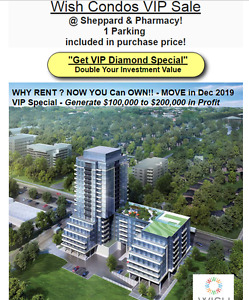 New Scarborough Condos With Profit*WISH CONDOS*