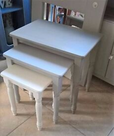 small tables, nest of tables, coffee tables, hall tables