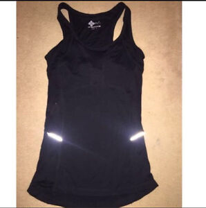 Size 8 black gym Top And Tights Eastwood Ryde Area Preview