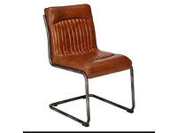 JOHN LEWIS HUDSON LIVING CAPRI LEATHER CHAIR