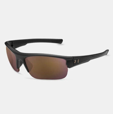 UNDER ARMOUR PROPEL SUNGLASSES SATIN BLACK FRAME / UA TUNED GOLF LENS NEW! (Under Armour Golf Sunglasses)