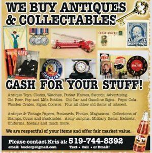 Coins stamps cards and other items WANTED!!!
