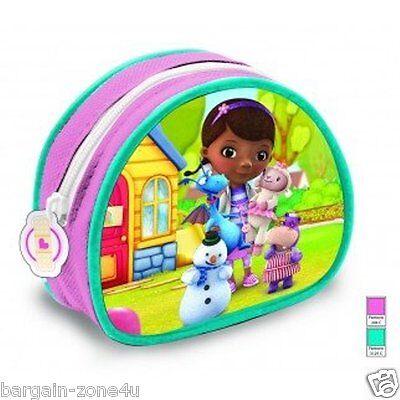 Disney Mcstuffins Coin Money Saving Purse Wallet Kids Girls Bags