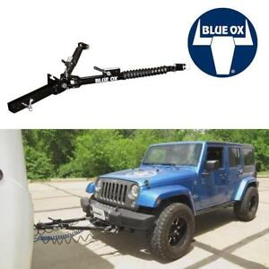 NEW BLUE OX ALPHA RV TOW BAR BX7365 205049111 MOUNTS AND STORE S ON BACK OF RV SELF ALIGNING WITH DISCONNECT HOOKUP PINS