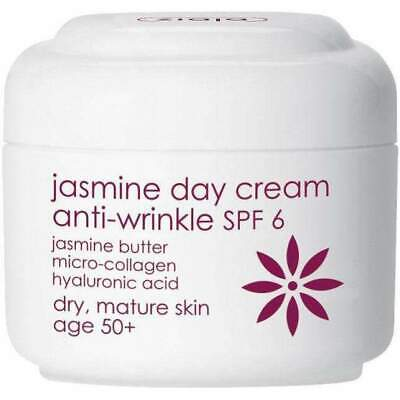 Ziaja Jasmine Anti-Wrinkle Day Cream Spf 6 50Ml OFFICIAL UK